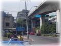 ラマ4世通りとスクンビット通りがぶつかる交差点